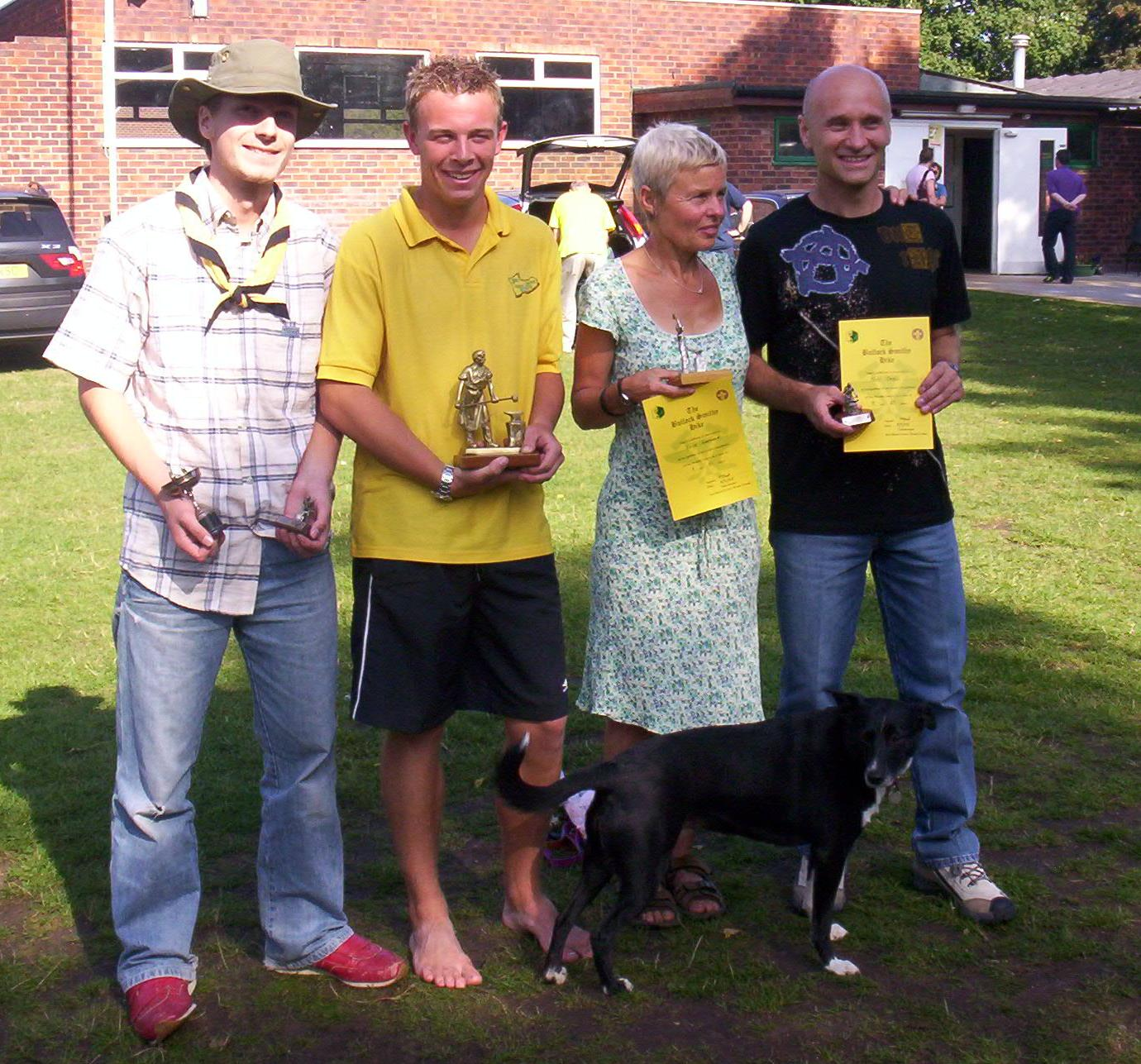 Winners 2005-  Alexander Walker, Simon Timmins, Julie Gardner, Tony Okell